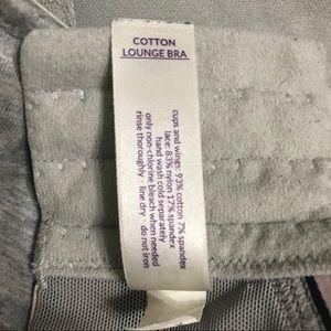 Cacique Intimates & Sleepwear - Cacique Cotton Lounge Bra 48D